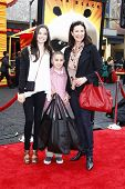 LOS ANGELES - MAY 22:  Mimi Rogers, daughter Lucy, son Charlie at the premiere of Kung Fu Panda 2 at