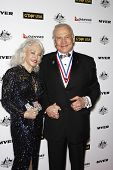 LOS ANGELES - JAN 22: Buzz Aldrin and wife Lois at the 2011 G'Day USA Australia Week LA Black Tie Ga