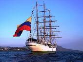 Grandes veleros de la Armada de Colombia