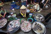 Vietnam Street Seafood Vendor