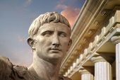 Statue of Julius Caesar Augustus in Rome, Italy  Ancient Art