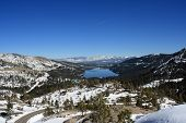 Donner Lake & Surrounding Mountains