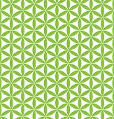 seamless flower of life pattern - sacred geometry background - the easiest but most magical pattern on the world