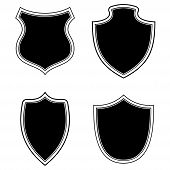 Shield Icon Isolated On White Background From Miscellaneous Collection. Shield Icon Trendy And Moder poster