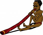 Cartoon aborigine