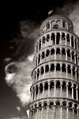 tilted tower of pisa