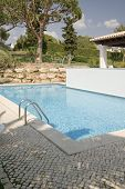a beautiful house with a pool at Algarve, Portugal
