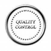 Sinal de controle de qualidade