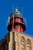 lighthouse's detail, Westkapelle, Zeeland, Netherlands