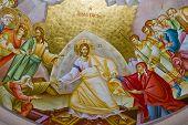Presco In Capernaum Church