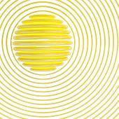 Sun Symbol. 3D Illustration