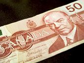 Fifty Dollar Banknote (canadian)