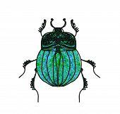 Escaravelho escaravelho Vector