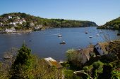 foto of dartmouth  - Looking towards the sea from Dartmouth Devon England - JPG