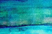 Turquoise Watercolor Background 2
