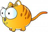 Mean Fat Cat Vector