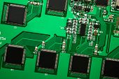 Pcb With Many Chips