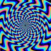 Antithesis    (illusory motion)