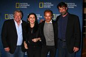 LOS ANGELES - JAN 3: Graham Beckel, Geraldine Hughes, Jesse Johnson und Billy Campbell kommt bei t