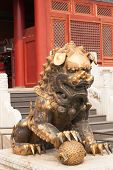 Bronze Chinese Dragon Statue