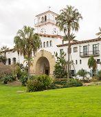 Exterior Santa Barbara Courthouse California
