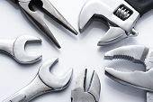 many metal tools