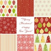 Christmas patterns collection