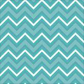 Zigzag Pattern In Light Blue