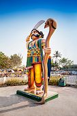 Mahishasura Demon Statue