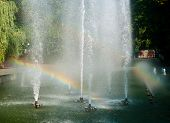 Mirror Jet And Rainbow