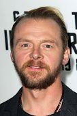 LOS ANGELES - SEP 10:  Simon Pegg at the