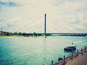 Retro Look River Rhein
