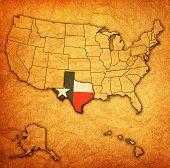 Texas On Map Of Usa