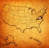 Virginia On Map Of Usa