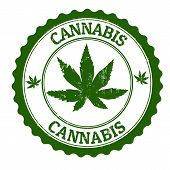 Sello de cannabis