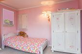 Vintage Mansion - dormitorio rosa