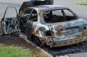 Burnt Car Wreck