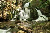 Waterfalls. Arroyo Valdecuevas, Leon