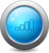Web Button With Volime Icon