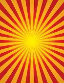 Radial Sun Burst (star Burst)