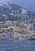 Boats In The Island Of Symi, Greece