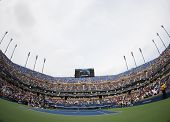 Arthur Ashe Stadium at the Billie Jean King National Tennis Center during US Open 2013