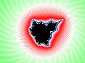 Colored fractal Mandelbrot