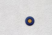 Blue And Yellow Button
