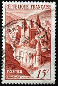 Conques Stamp