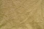 Texture Of The beige Terry Cloth