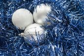 Three Balls On Tinsel