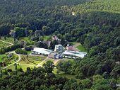 Tallinn Botanical Garden Aerial View
