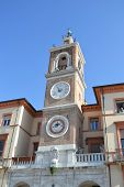 Clock Tower In Rimini (torre Dell` Orologio).