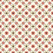 Old Floral Tiles